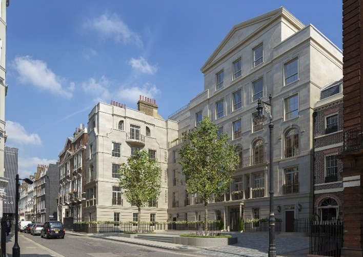 Stanta appointed to new Mayfair development at Audley Square