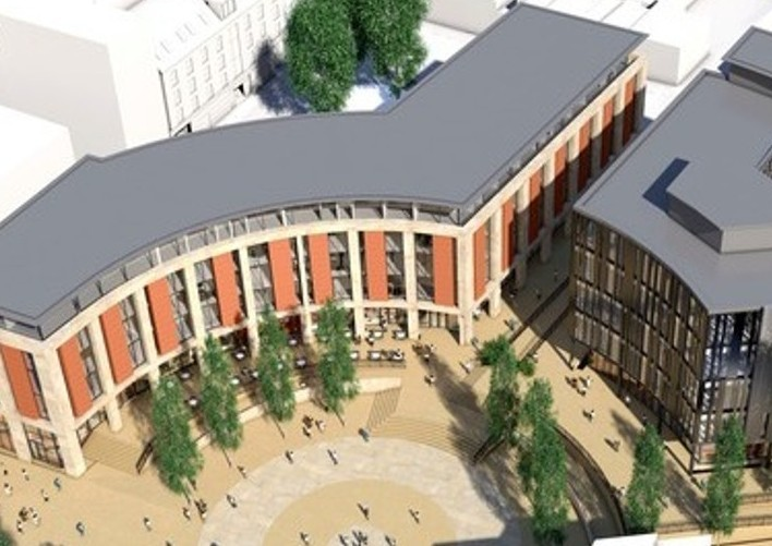 Stanta secure Leicester Town Centre development
